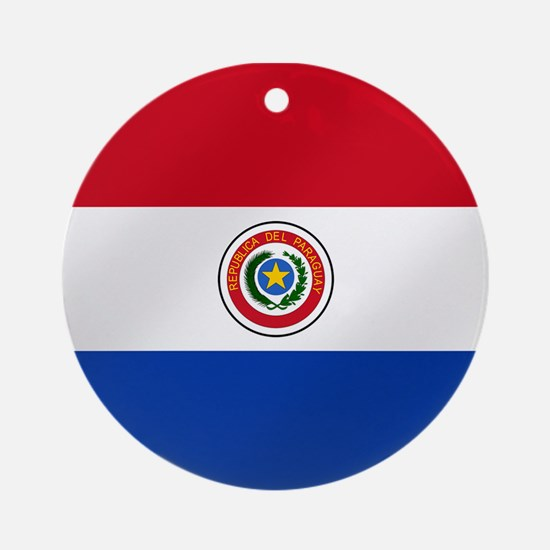Flag of Paraguay Ornament (Round)