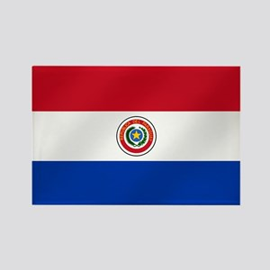 Flag of Paraguay Rectangle Magnet