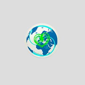 I heart Adventure - Blue Mini Button