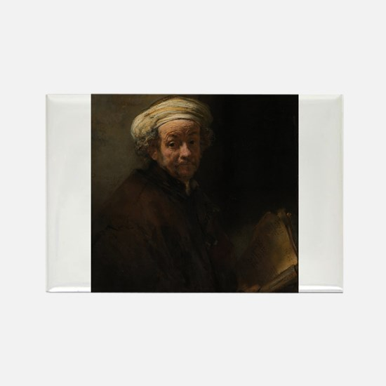 Self-portrait as the apostle Paul - Rembrandt - c1