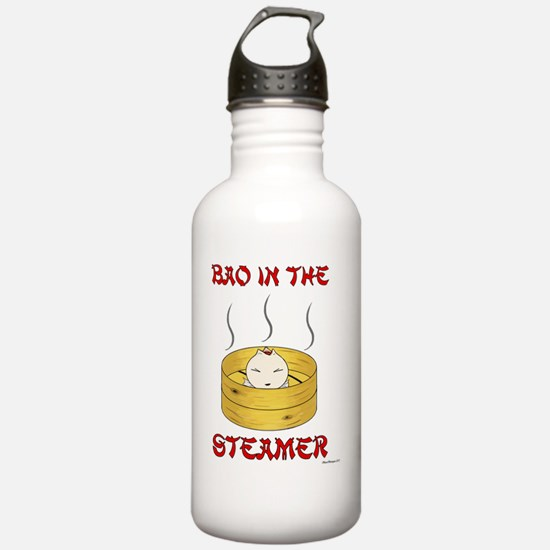 bao alt new white copy Water Bottle