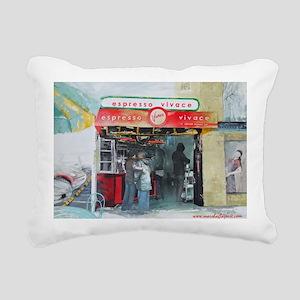 Espresso Vivace Rectangular Canvas Pillow