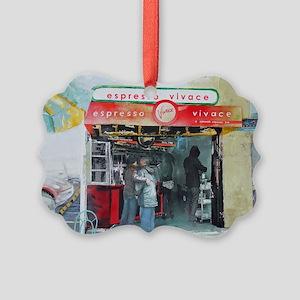 Espresso Vivace Picture Ornament