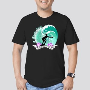 i Love salt Men's Fitted T-Shirt (dark)