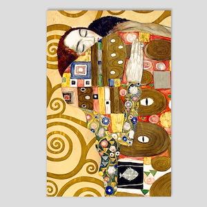 K/N Klimt Ful Postcards (Package of 8)