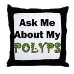 Polyps Throw Pillow