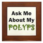Polyps Framed Tile