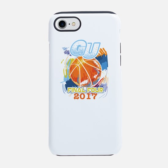 GU Final Four 2017 Basketball iPhone 7 Tough Case