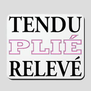 tendu_pink_outline Mousepad
