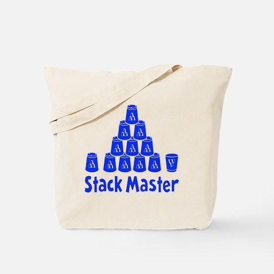blue2, Stack Master 1, ck retro shadowed Tote Bag