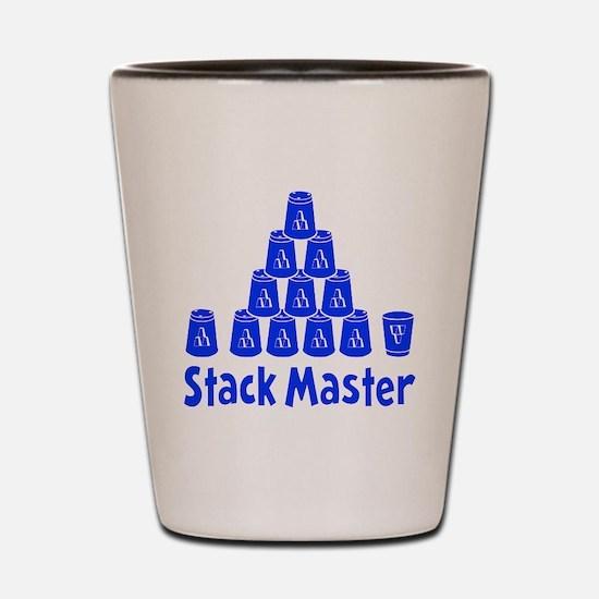 blue2, Stack Master 1, ck retro shadowe Shot Glass