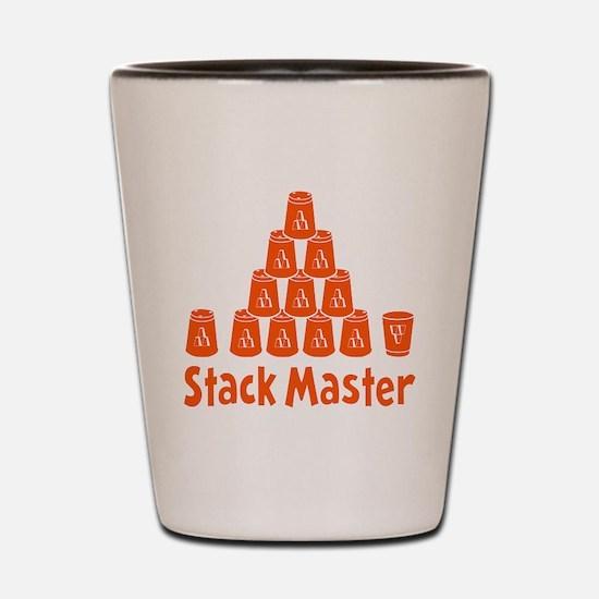 orange2, Stack Master 1, ck retro shado Shot Glass