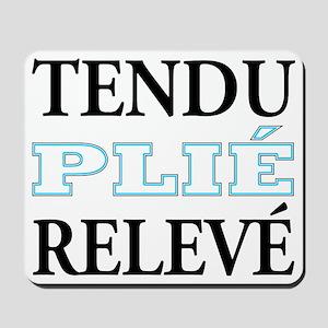 tendu_blue_outline Mousepad