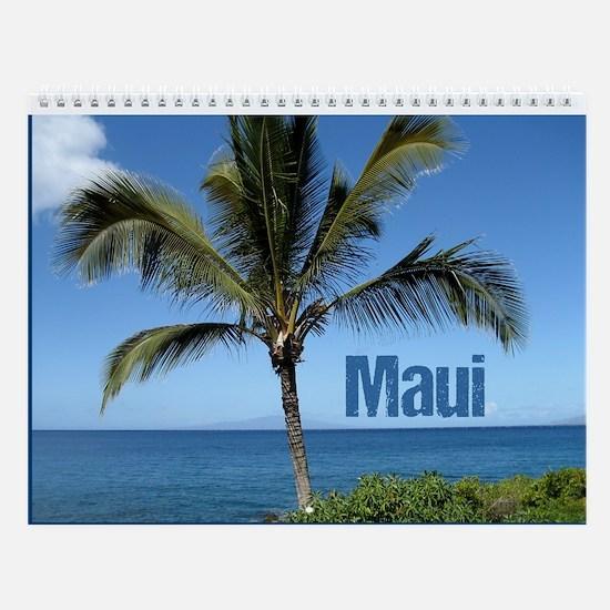 Maui Hawaii Beach Wall Calendar