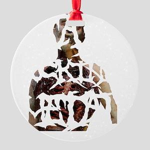 death-fucking-metal-ZUH Round Ornament