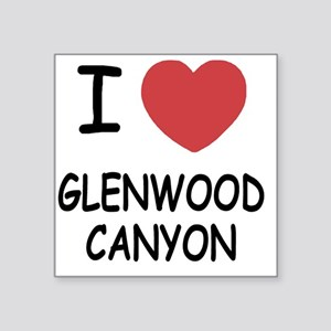 "GLENWOOD_CANYON Square Sticker 3"" x 3"""