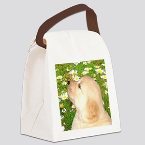 Cute Puppy Magnet, Button, Gifts  Canvas Lunch Bag