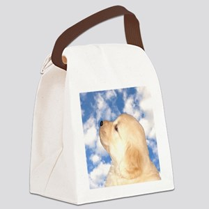 Cute Puppy Gifts, Presents, Merch Canvas Lunch Bag