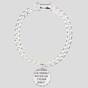 REMEMBER_2100x2100 Charm Bracelet, One Charm