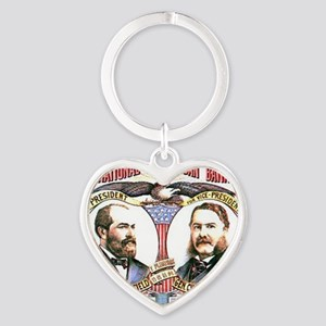 ART Garfield 1880 Heart Keychain