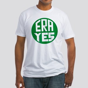 ART ERA YES Fitted T-Shirt