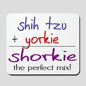 shorkie Mousepad