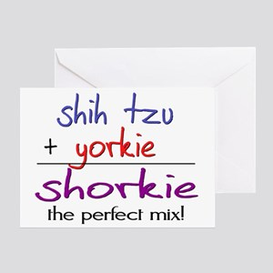 shorkie Greeting Card