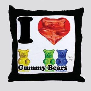 gummi Throw Pillow