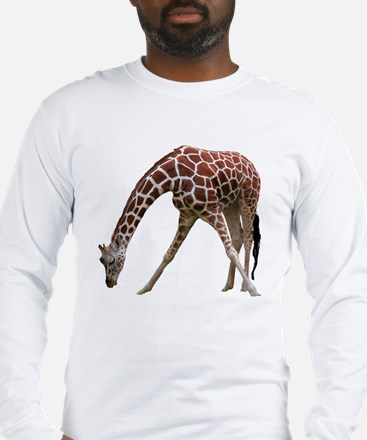 giraffeCutOut Long Sleeve T-Shirt
