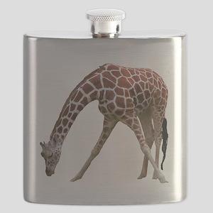 giraffeCutOut Flask