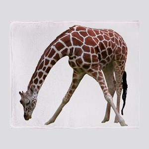 giraffeCutOut Throw Blanket