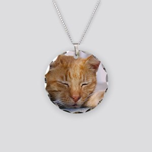 Snapper Necklace Circle Charm