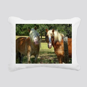 New Hair Stylist Rectangular Canvas Pillow