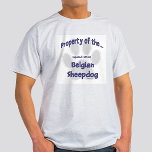 Belgian Sheepdog Property Light T-Shirt