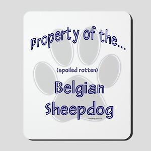 Belgian Sheepdog Property Mousepad