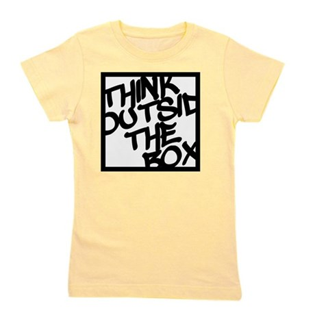 Think Outside the Box Girl's Tee