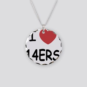 14ERS Necklace Circle Charm