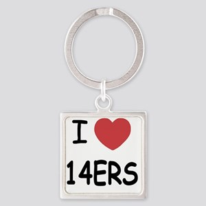 14ERS Square Keychain