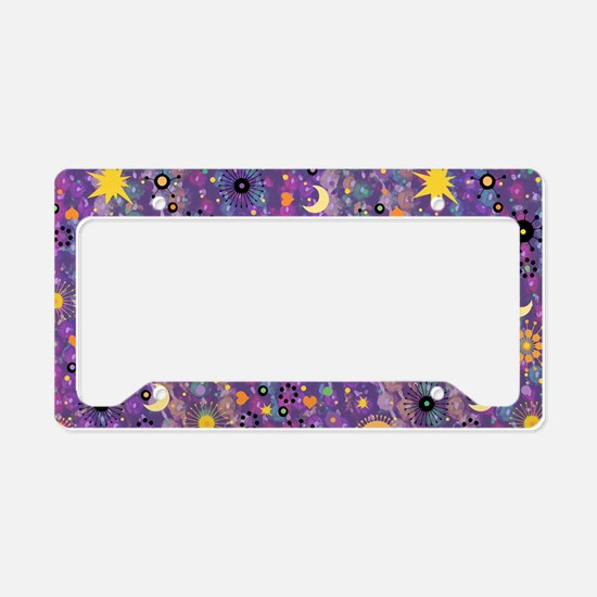 MardiGypsyPatPBBbag License Plate Holder