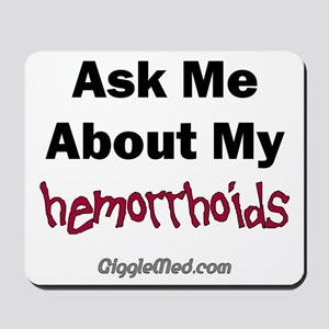 Hemorrhoids Mousepad