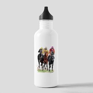 trioraceBlack Stainless Water Bottle 1.0L