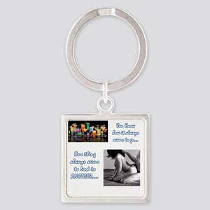 21thing Square Keychain