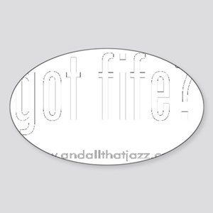 fife Sticker (Oval)
