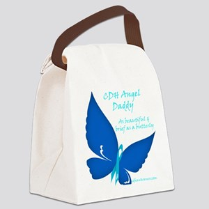 CDH Butterfly - Daddy Canvas Lunch Bag