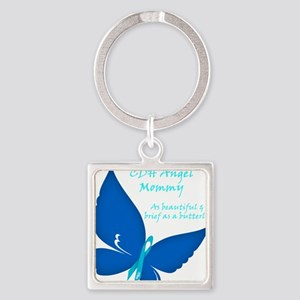 CDH Butterfly - Mommy Square Keychain