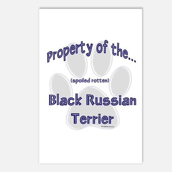 Black Russian Property Postcards (Package of 8)