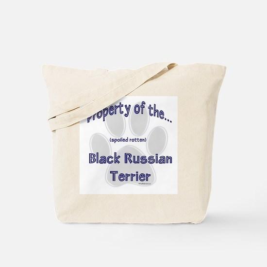 Black Russian Property Tote Bag