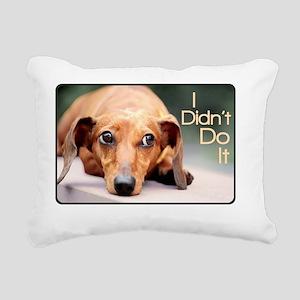 didntdoit3 Rectangular Canvas Pillow
