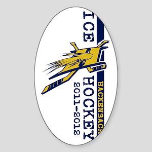 logo-v-l Sticker (Oval)