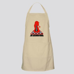 Black bishop (clean) Apron